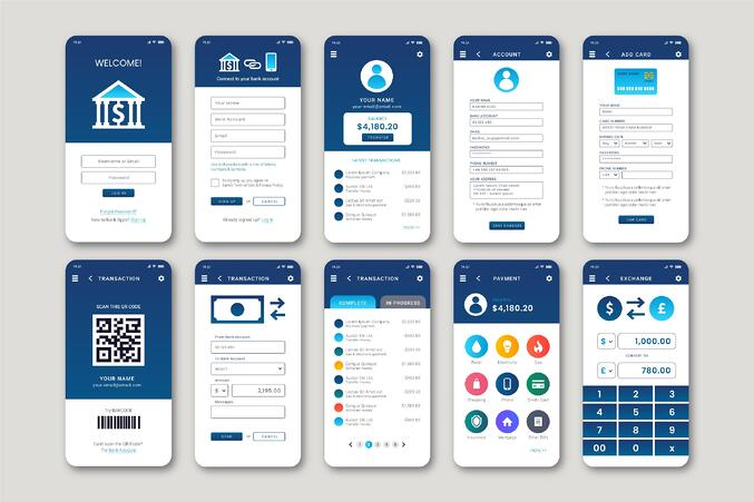 icons for banking ui ux