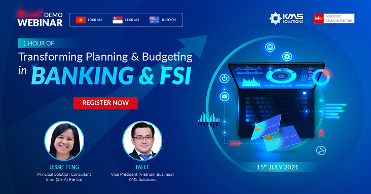 [Webinar] Transforming Planning & Budgeting in Banking & FSI - KMS Solutions