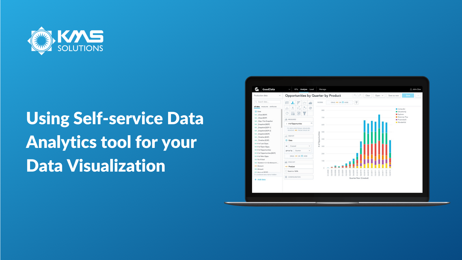 Using Self-service Data Analytics tool for your Data Visualization