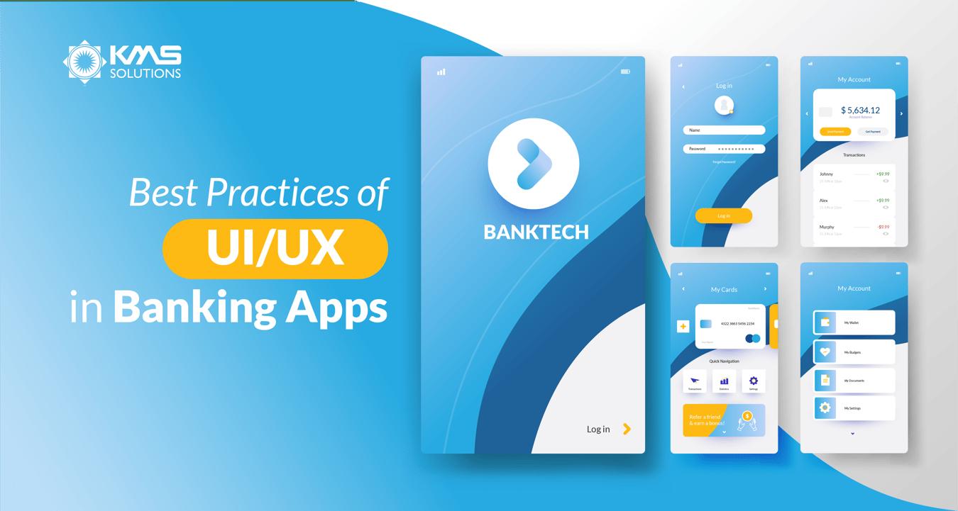 best practices of uiux in banking apps