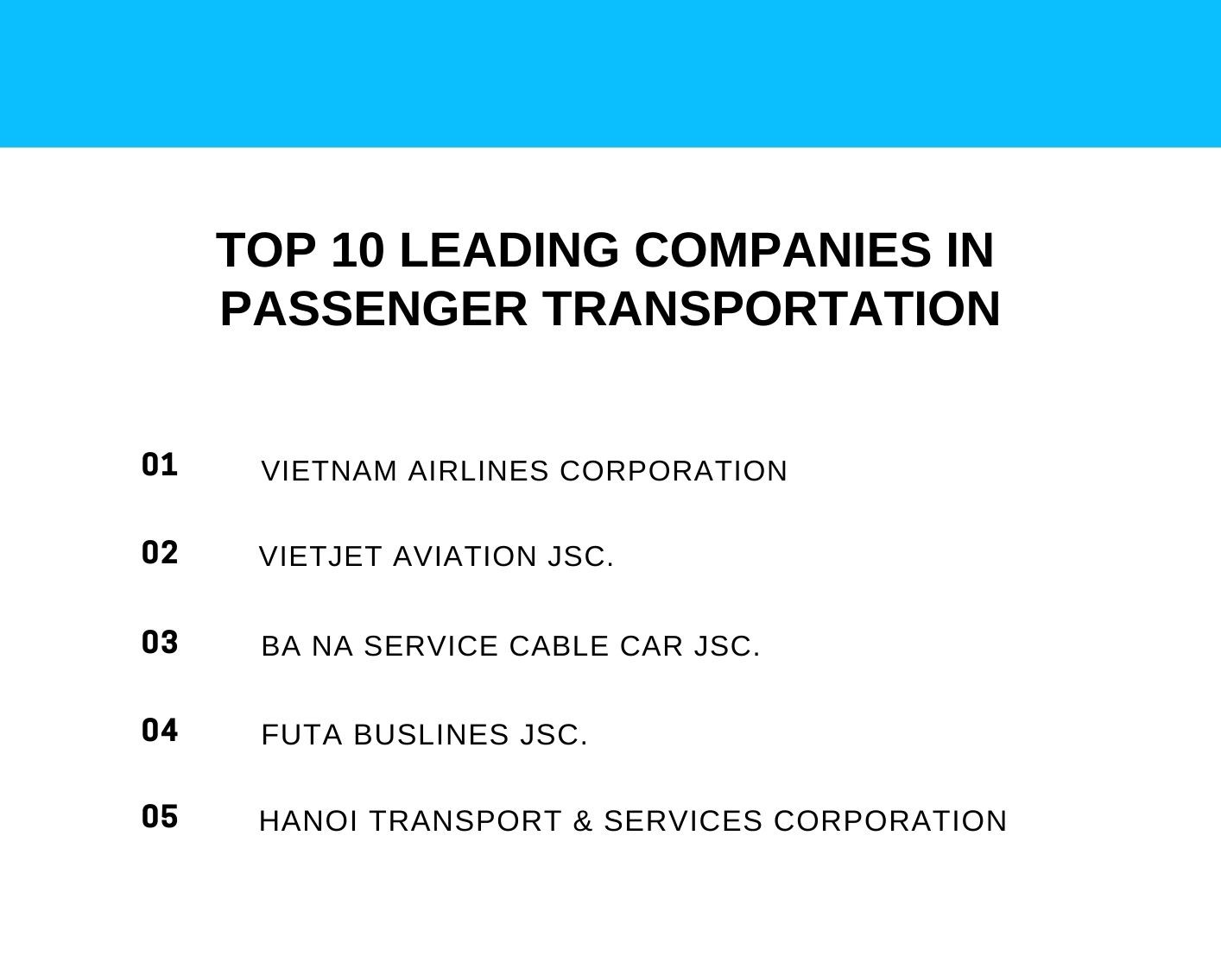 passenger transporation